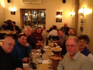 Jerusalem - Dinner with Oleg, Vasilly and Oren