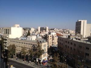 Jerusalem from pastor's office