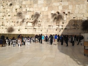 The Western or Wailing Wall